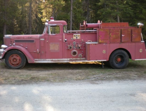 Antique 1959 Pirsch Fire Engine