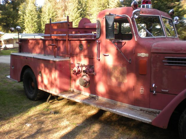 1959 Pirsch Fire Engine - passenger's side